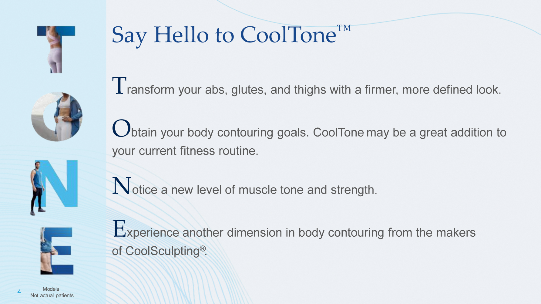 Say Hello to CoolTone