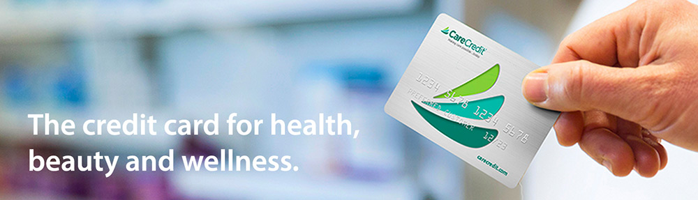 The credit card for health, beauty and wellness.