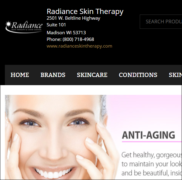 Busy?  Shop for your skincare products SECURELY on our new skincare site!